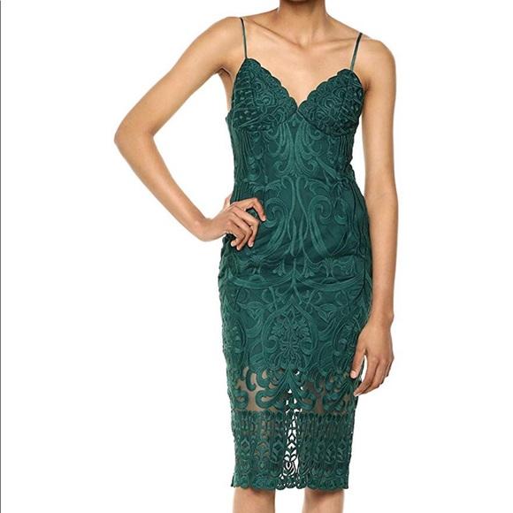 Bardot Dresses & Skirts - Bardot Forest Green Dress